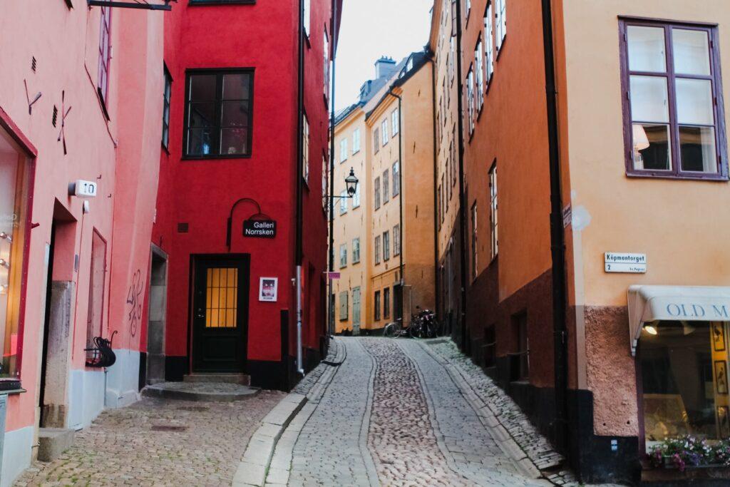 ett jobba i Sverige