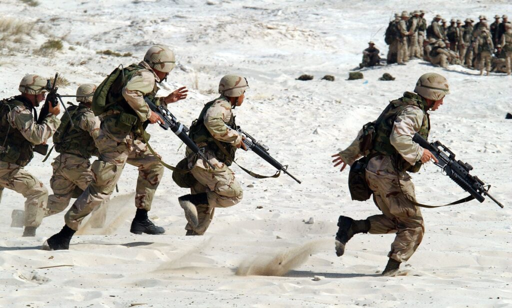kariera żołnierza zawodowego